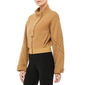 NWT Alo Yoga Strut Jacket - M - Caramel